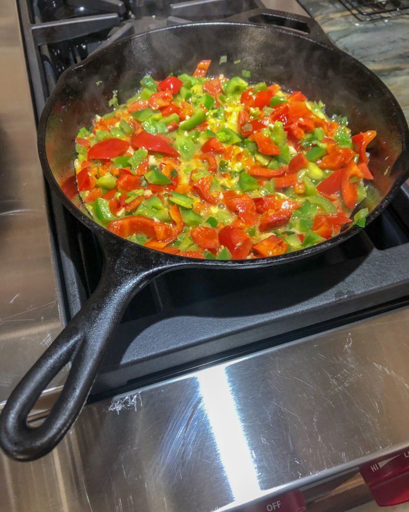Sauteed Peppers
