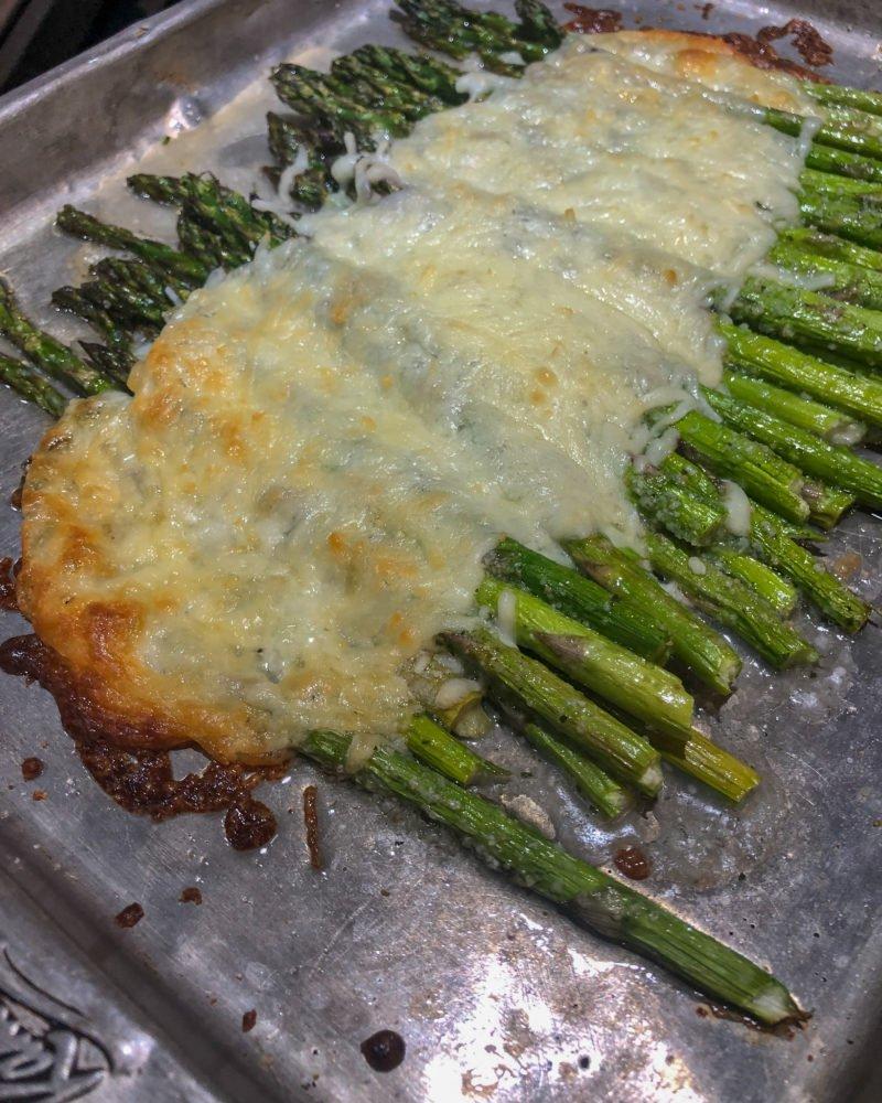 cheesy asparagus - J Dub By Design