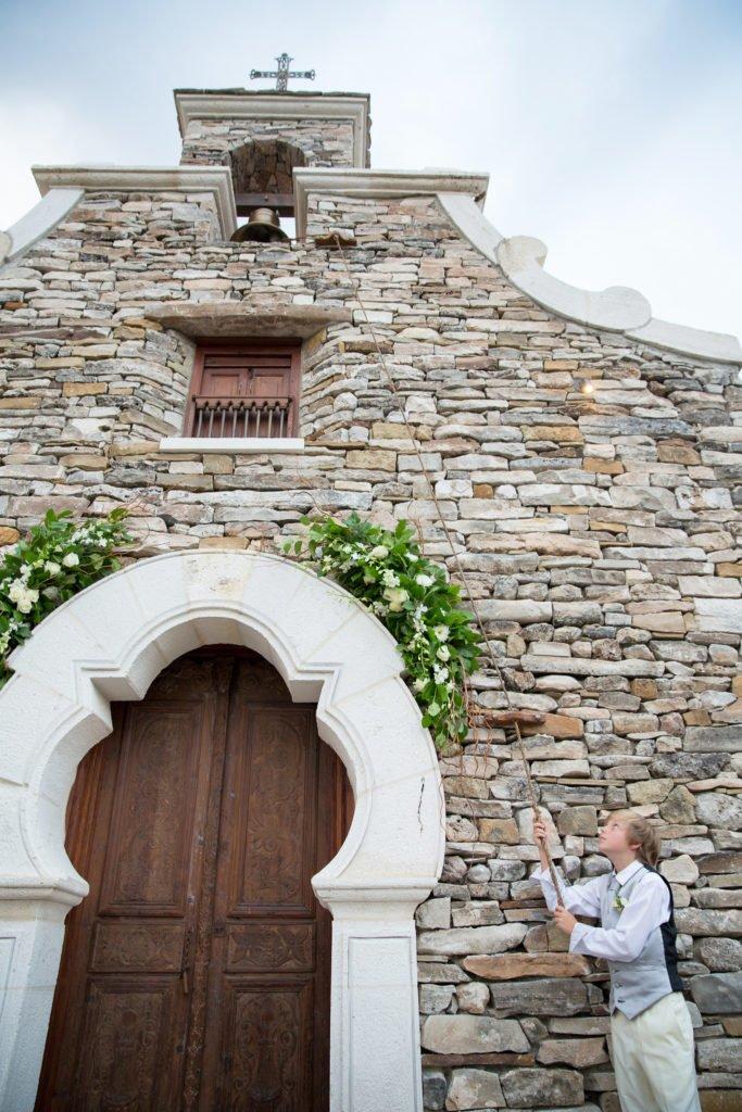 David Williams son ringing wedding bell at chapel - J Dub By Design