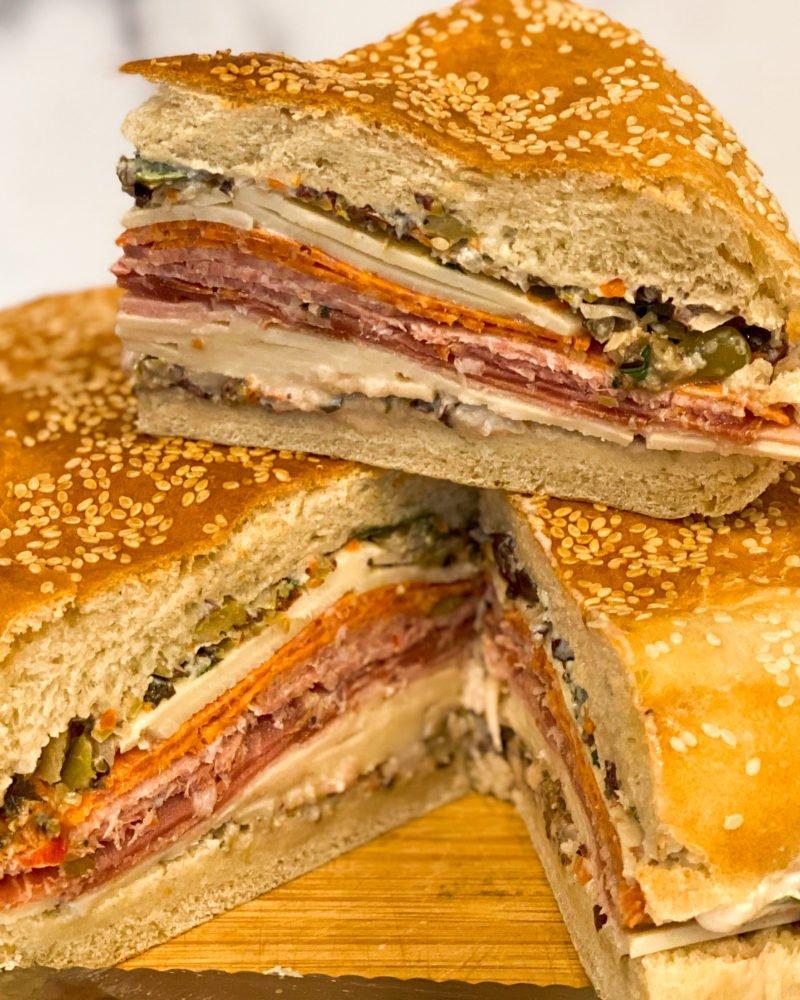 muffuletta sandwiches - J Dub By Design