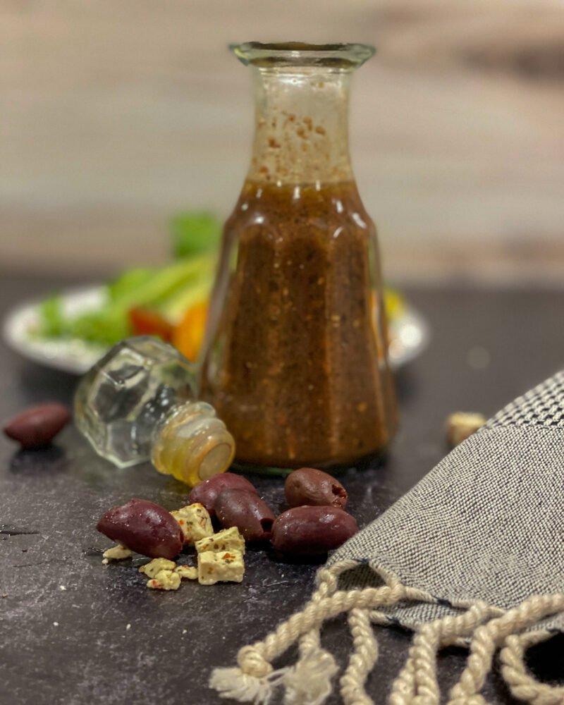 salad dressing with kalamata olives and feta - J Dub By Design
