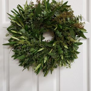Eucaplytus and Rosemary Wreath - J Dub By Design
