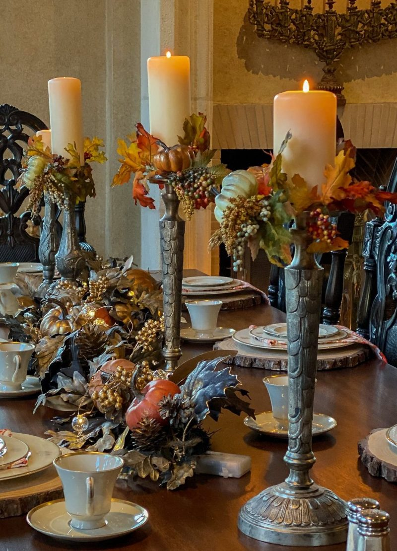 fall candle rings - J Dub By Design