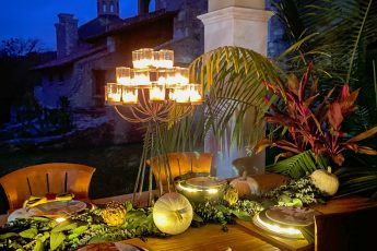 Fall Tablescape Using Dried Artichokes - J Dub By Design ™