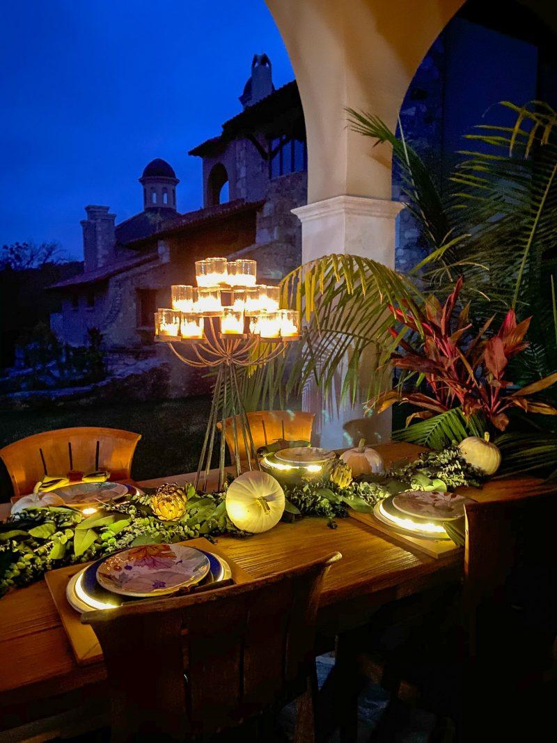 Fall Tablescape Using Dried Artichokes - J Dub By Design ™