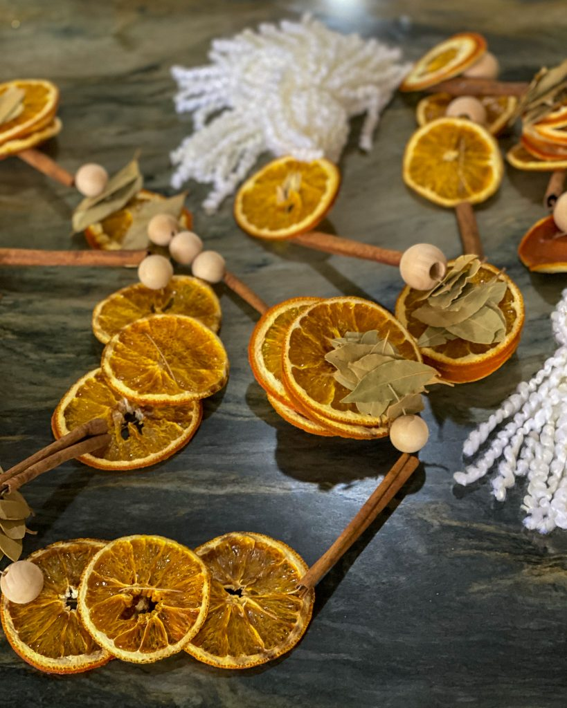 dreid fruit garland - J Dub By Design