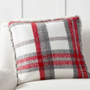 plaid Christmas Pillow - J Dub By Design
