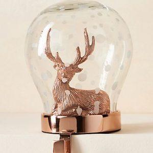 reindeer stocking holder - J Dub By Design