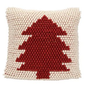 red tree pillow - J Dub By Design