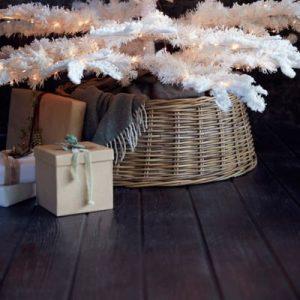 Wicker Christmas Tree Basket - J Dub By Design