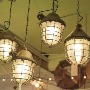 caged light fixtures - J Dub By Design