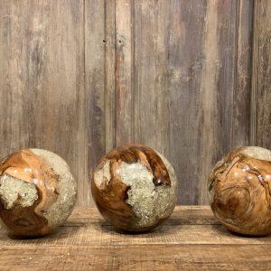 teak balls - J dub By Design