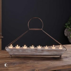 Iron Vintage Candle Holder - J Dub By Design