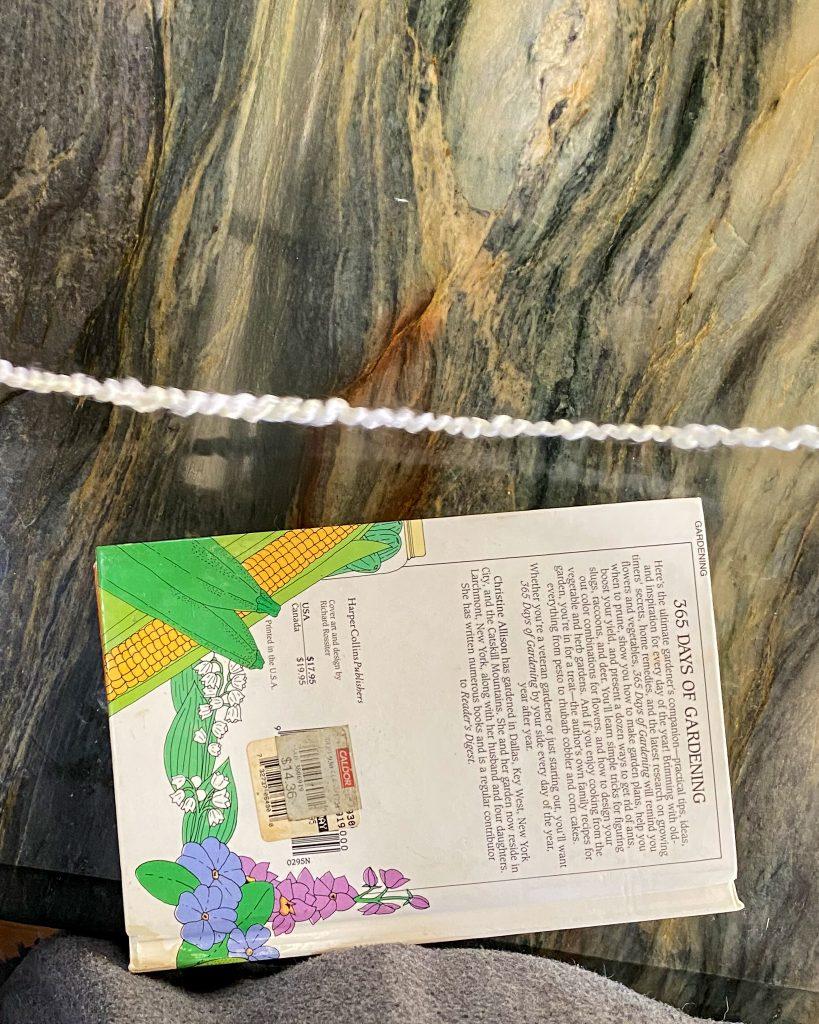 book with yarn - J Dub By Design