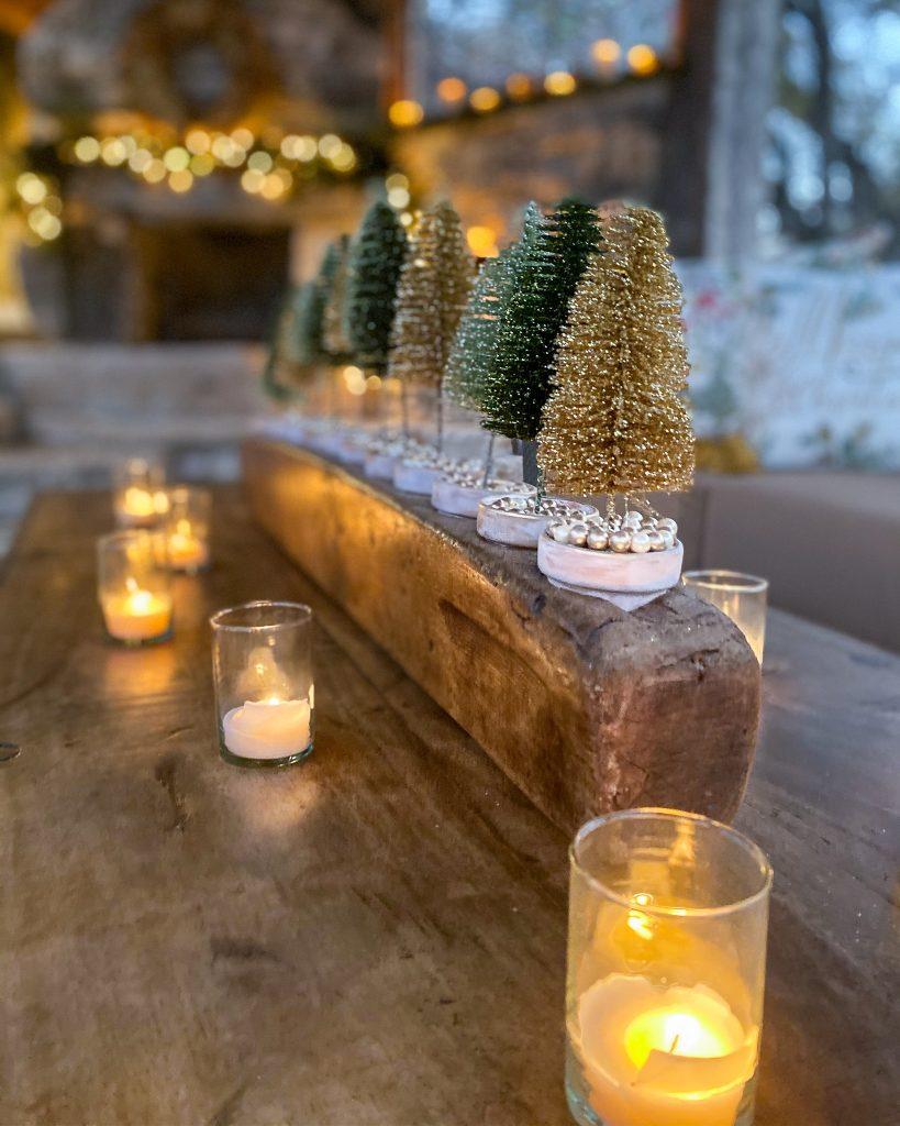 brush tree DIY in sugar mold - J Dub By Design