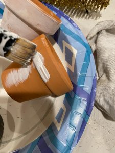 dry brush white acrylic paint - J Dub By Design