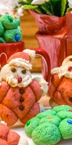 Fat Santa Christmas sugar cookies - J Dub By Design™