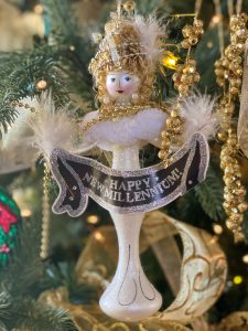Happy New Millennium Ornament - J Dub By Design