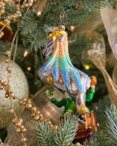 Cupid Mercury Glass Ornament - J Dub By Design