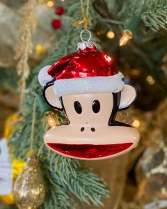 Curious George mercury Glass ornament - J Dub By Design