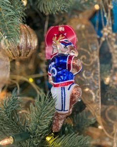Dasher mercury glass ornament - J Dub By Design