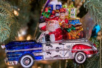 Texas Santa ornament - J Dub By Design
