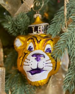 LSU tiger ornament - J Dub By Design