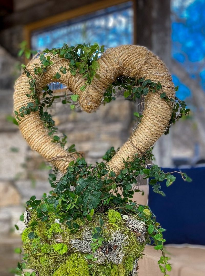 Valentines Day DIY Topiary - J Dub By Design™