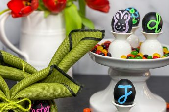DIY Chalkboard Eggs - J Dub By Design™