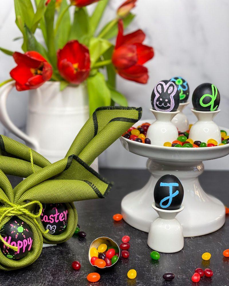 DIY Chalkboard Eggs - J Dub By Design™
