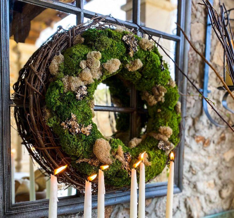 DIY Spring Moss Wreath - J Dub By Design™