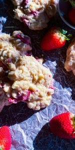 White Chocolate Strawberry Cookies - J Dub By Design™