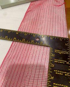 measuring red deco mesh - J Dub By Design™