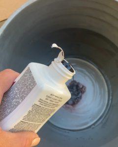 pouring rit dye in 5 gallon bucket - J Dub By Design™