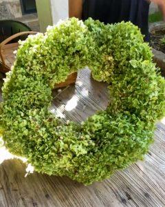 hydrangea wreath complete - J Dub By Design™